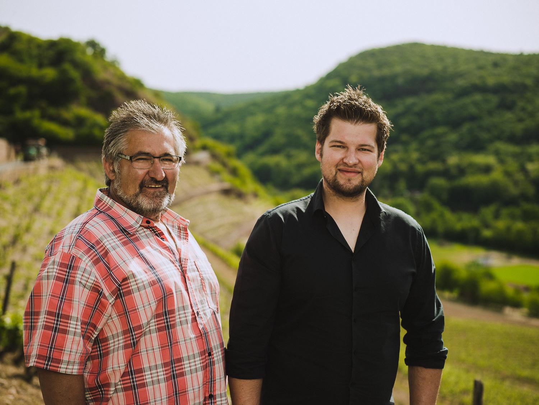 Gunther und Timo Keller